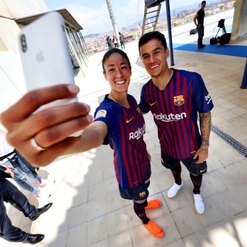 FC Barcelona 2018 2019 Nike Home Football Kit, Soccer Jersey, Shirt, Camiseta, Equipacion, Camisa, Maillot, Trikot, Tenue