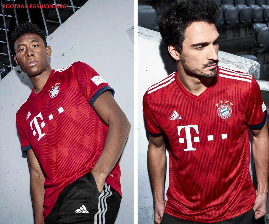 super popular f2c01 584b3 Bayern München 2018/19 adidas Home Kit - FOOTBALL FASHION.ORG