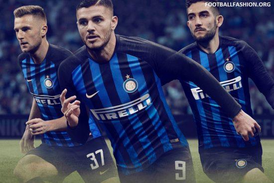 Inter Milan 2018 2019 Nike Home Football Kit, Soccer Jersey, Shirt, Maglia, Gara, Camiseta, Camisa, Maillot
