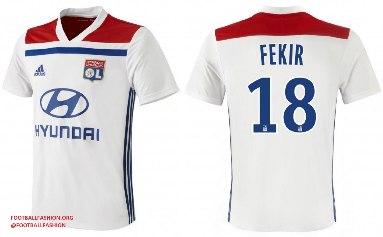 d67ffeeac Olympique lyon adidas home and away football kit soccer jersey shirt jpg  1322x819 Olympique lyon jersey