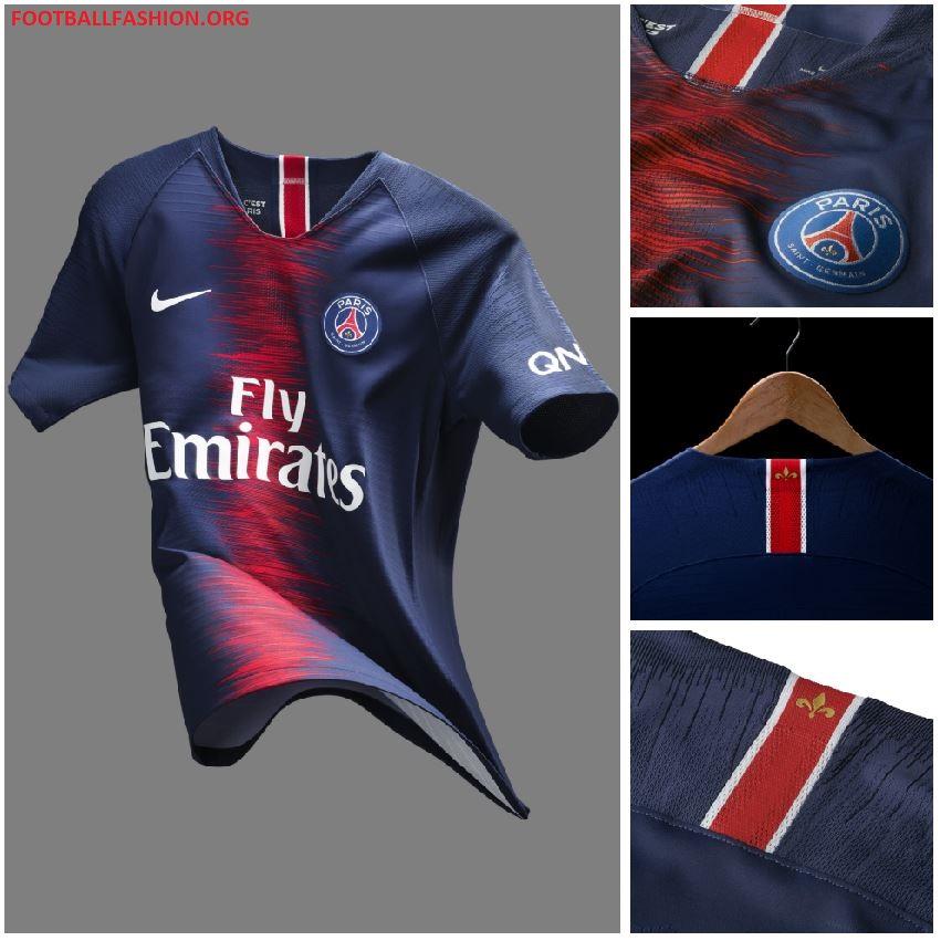 Psg: Paris Saint-Germain 2018/19 Nike Home Kit