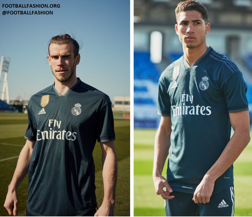 pick up 73183 9f19a Real Madrid 2018/19 adidas Home and Away Kits - FOOTBALL ...