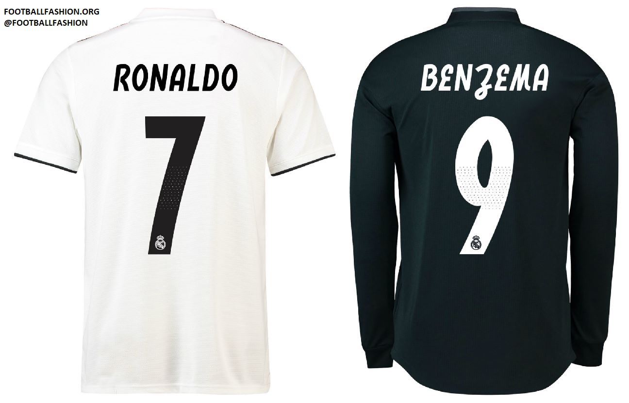 Real Madrid 2018 19 adidas Home and Away Kits – FOOTBALL FASHION.ORG 5f76e134e
