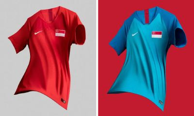 Singapore 2018 2019 2020 Nike Home and Away Football Kit, Soccer Jersey, Shirt
