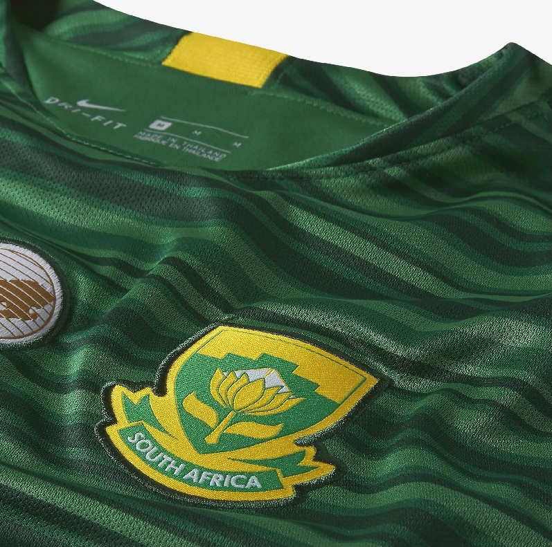 02203b8d9b1 South Africa 2018 19 Nike Away Jersey - FOOTBALL FASHION.ORG