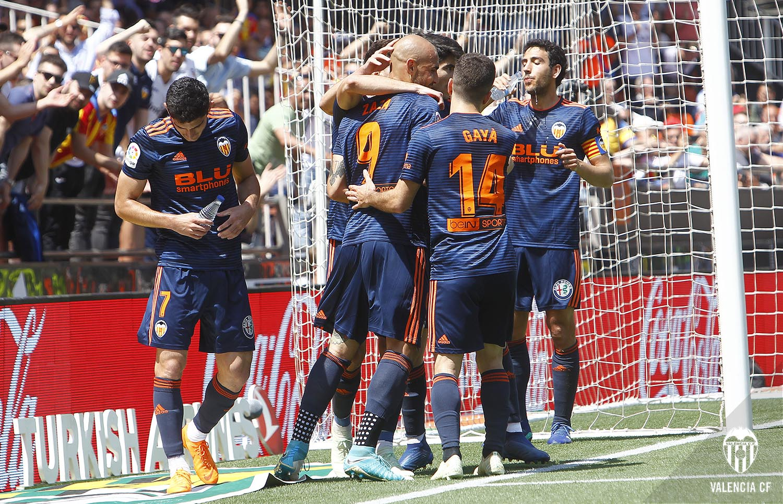 Valencia CF 2018/19 adidas Away Kit - FOOTBALL FASHION.ORG