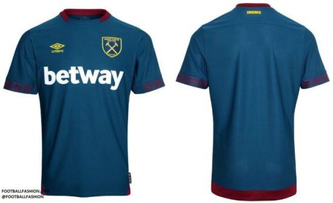 West Ham United 2018 2019 Umbro Home Football Kit, Soccer Jersey, Shirt, Camiseta, Camisa, Maillot, Trikot
