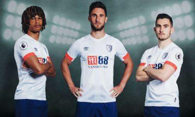 AFC Bournemouth 2018 2019 Umbro Away Football Kit, Soccer Jersey, Shirt
