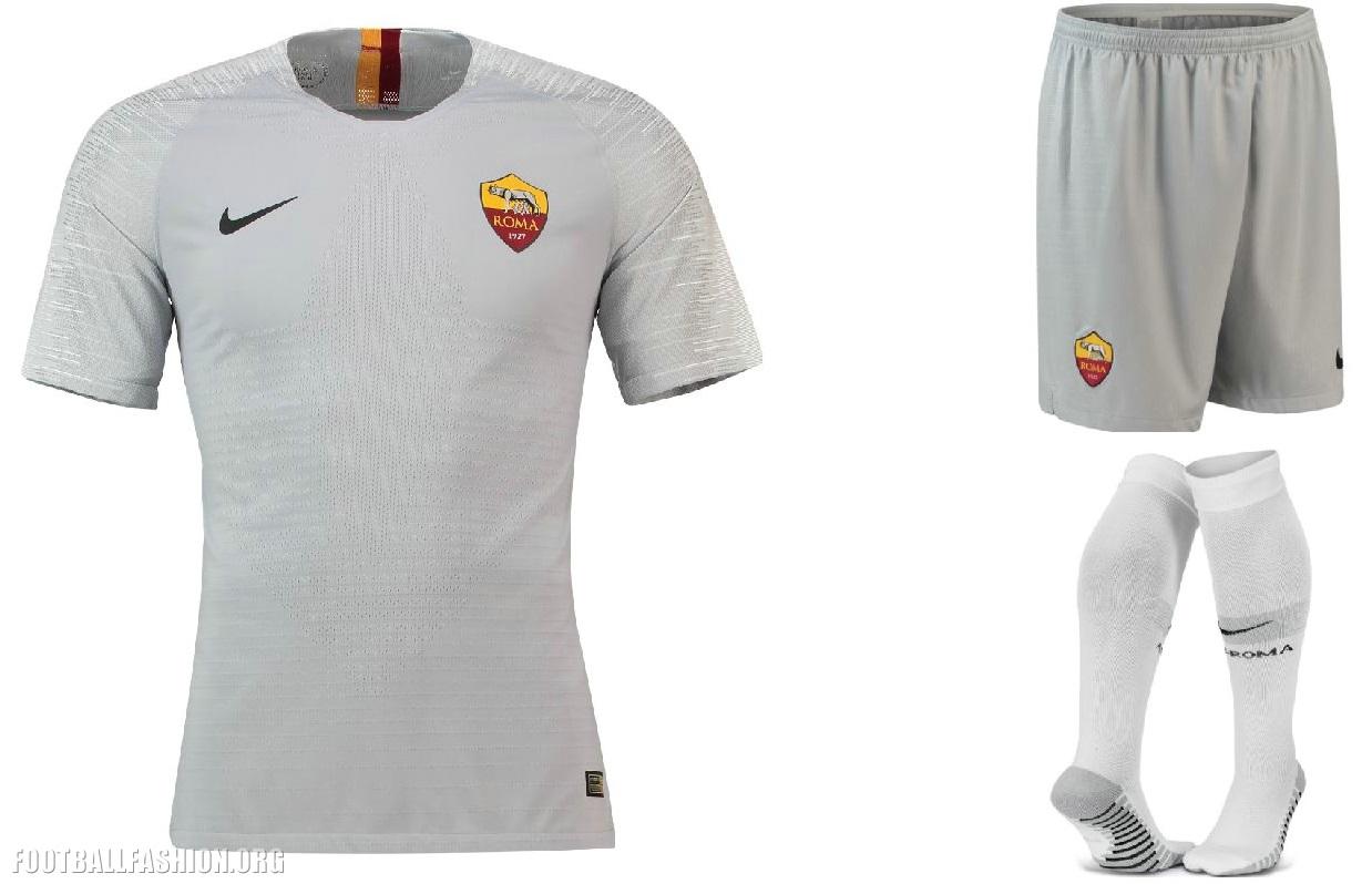 ce256f5d34e237 AS Roma 2018 2019 Nike Away Football Kit, Soccer Jersey, Shirt, Gara,