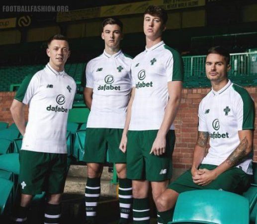 Celtic FC 2018 2019 New Balance Away Football Kit, Soccer Jersey, Shirt