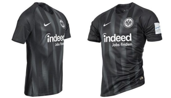 Eintracht Frankfurt 2018 2019 Nike Home Football Kit, Soccer Jersey, Shirt, Trikot, Heimtrikot
