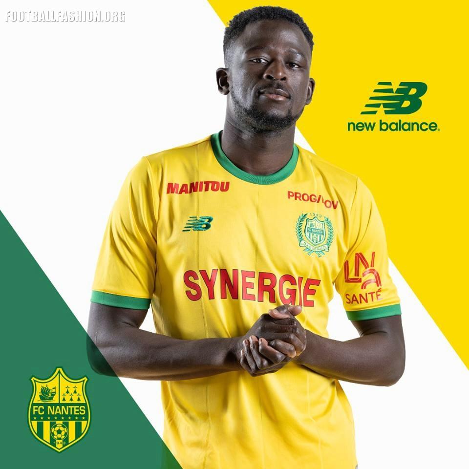 New 201819 Home FC FOOTBALL Balance Away Kits Nantes and TcF1JlK