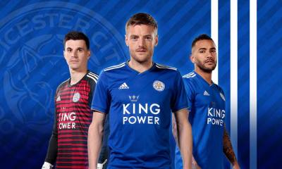 Leicester City FC 2018 2019 PUMA Home Football Kit, Soccer Jersey, Shirt