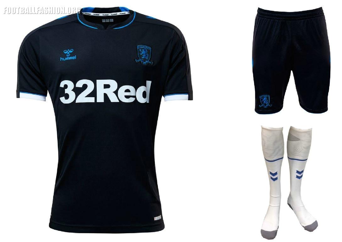 97e9456801e Middlesbrough FC 2018 2019 Hummel Home and Away Football Kit, Soccer Jersey,  Shirt