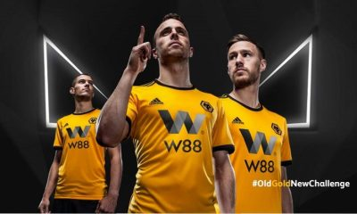 Wolves Unveil 2018 2019 adidas Premier League Football Kit, Soccer Jersey, Shirt