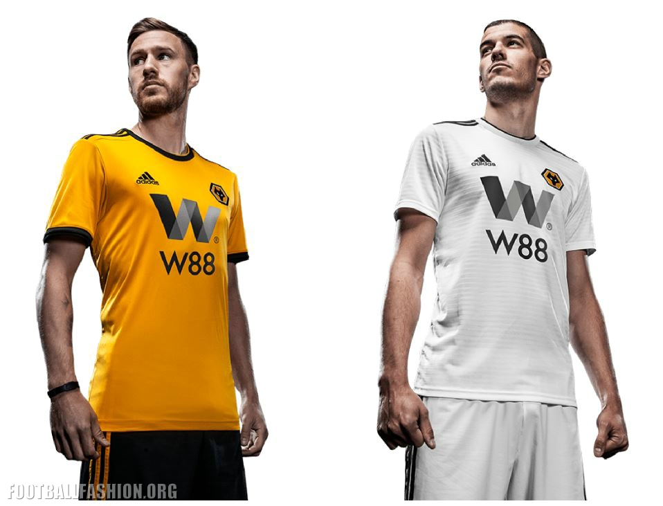 Wolves Unveil 2018/19 adidas Premier League Kits - FOOTBALL FASHION