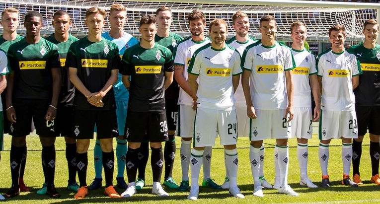 Borussia Mönchengladbach 2018/19 PUMA Home and Away Kits - FOOTBALL