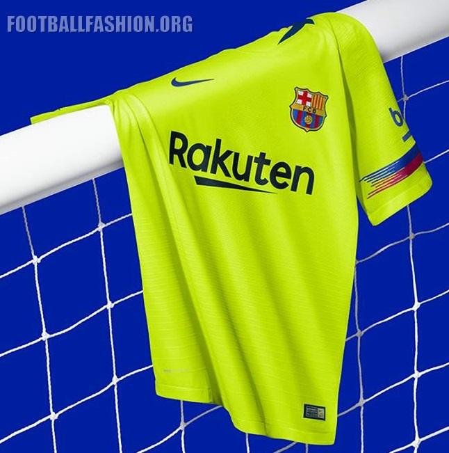 the best attitude 5b60a 2e1e0 FC Barcelona 2018/19 Nike Away Kit - FOOTBALL FASHION.ORG