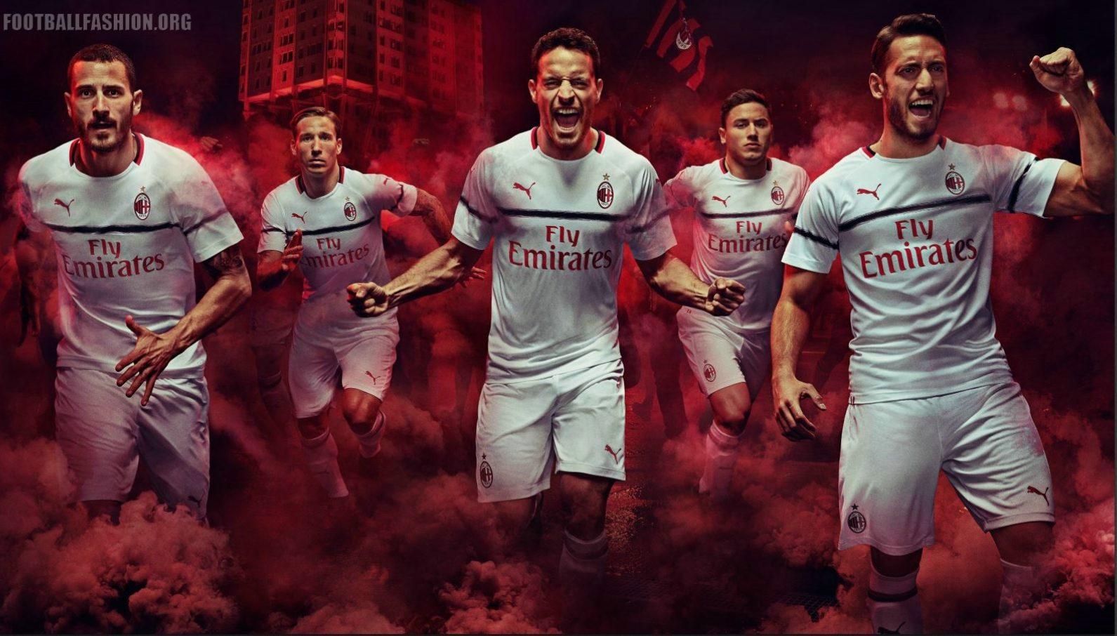 4a1f5601f AC Milan 2018 19 PUMA Away Kit - FOOTBALL FASHION.ORG