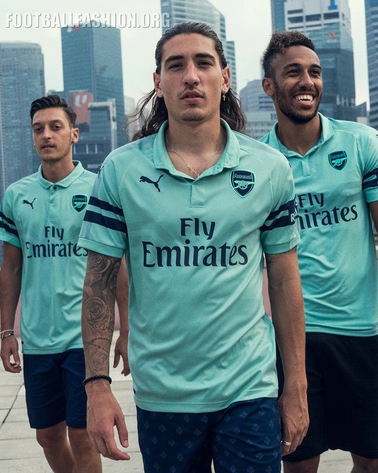 7182f1740 Arsenal FC 2018 19 PUMA Third Kit – FOOTBALL FASHION.ORG