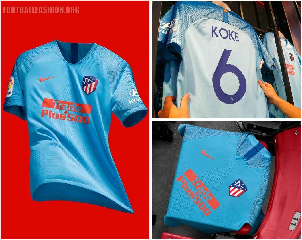 28bb4e88d Atlético de Madrid 2018 19 Nike Away Kit - FOOTBALL FASHION.ORG