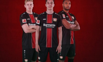 Bayer 04 Leverkusen 2018 2019 Jako Home Football Kit, Soccer Jersey, Shirt, Trikot, Heimtrikot