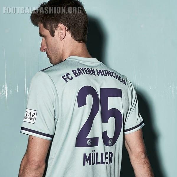 Bayern Munich 2018 19 adidas Away Kit – FOOTBALL FASHION.ORG 1679fb548