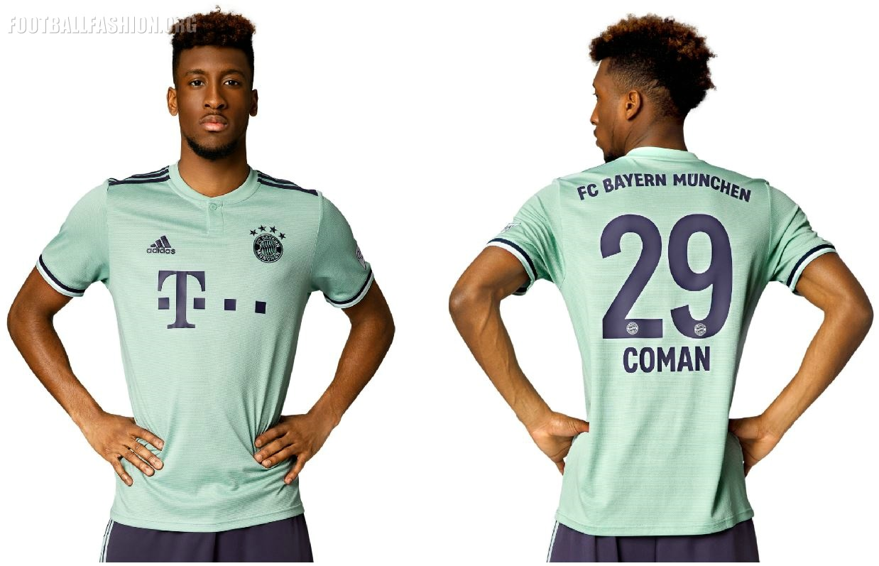 the latest 50592 3d577 Bayern Munich 2018/19 adidas Away Kit - FOOTBALL FASHION.ORG