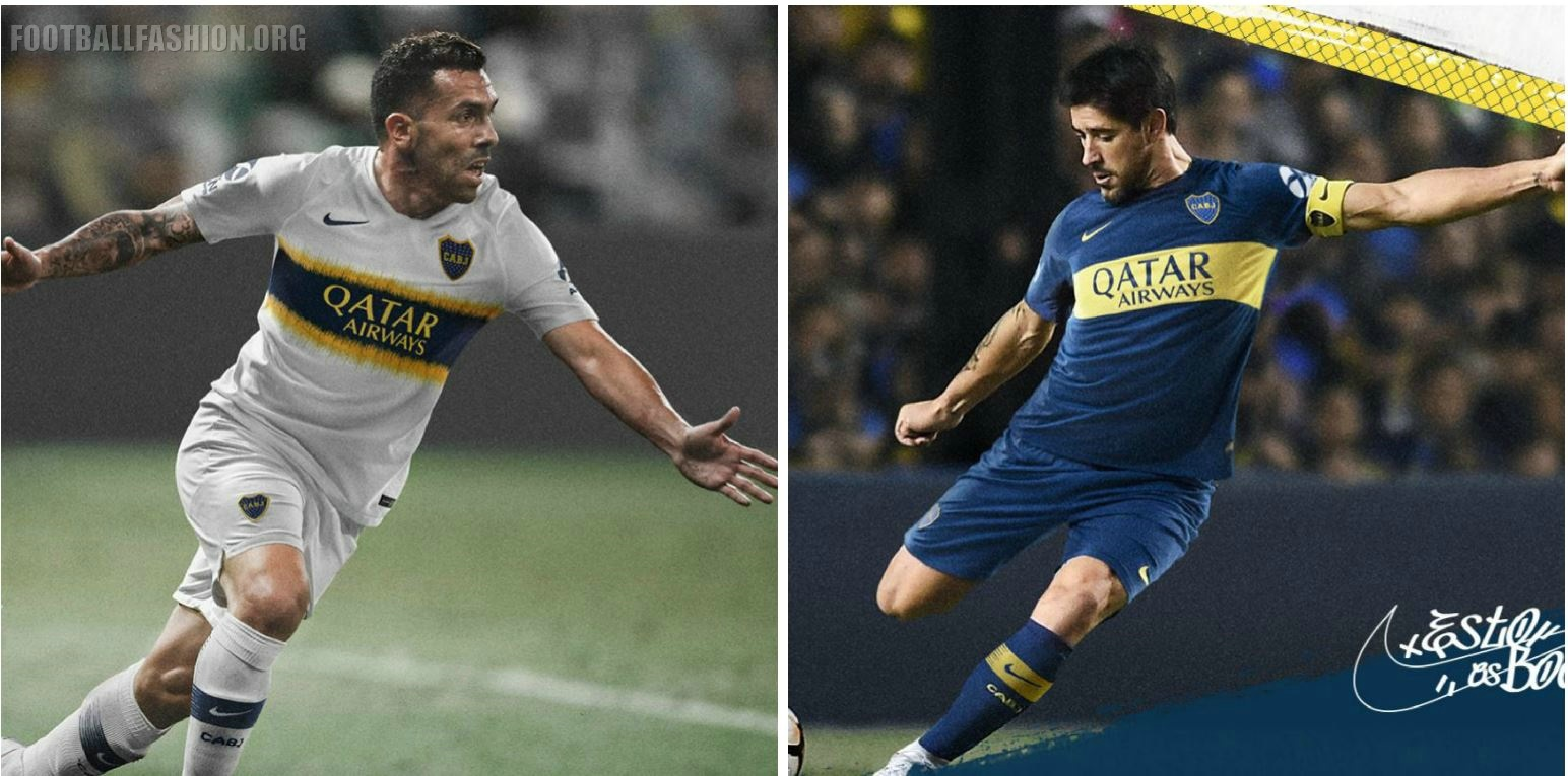 Boca Juniors 2018 19 Nike Home and Away Kits – FOOTBALL FASHION.ORG 35e8450780a10