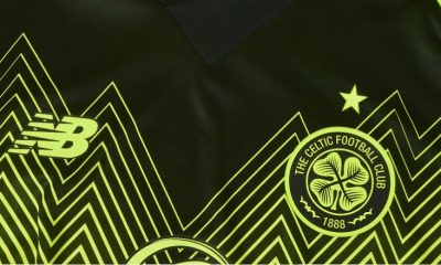 Celtic Football Club 2018 2019 New Balance Third Football Kit, Soccer Jersey, Shirt