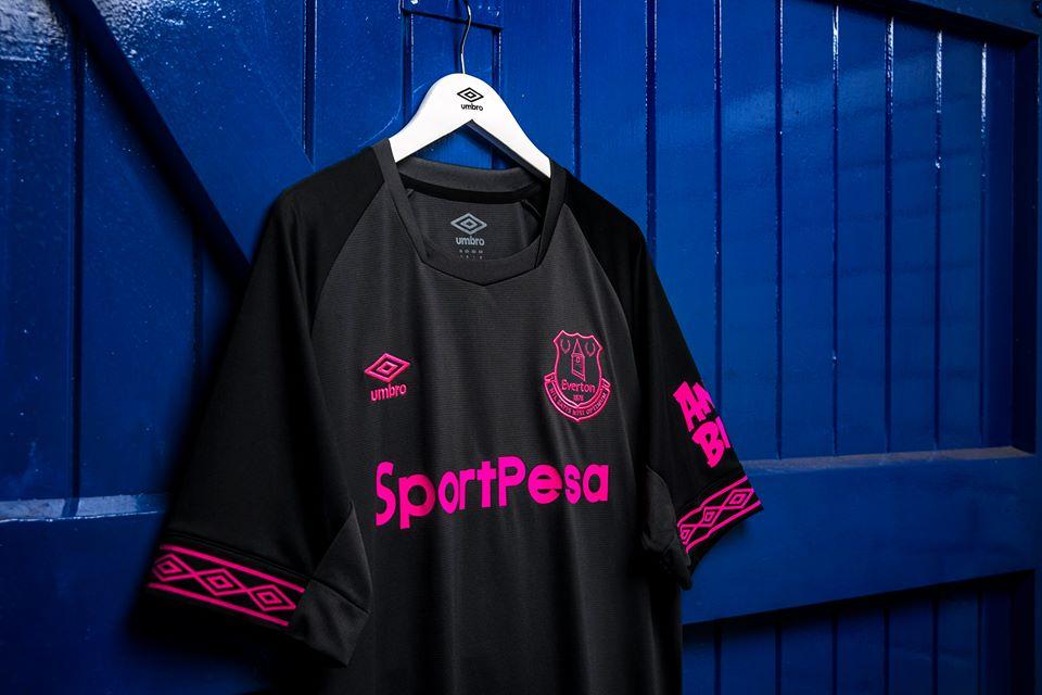 5b56556052d Everton FC 2018 19 Umbro Away Kit - FOOTBALL FASHION.ORG