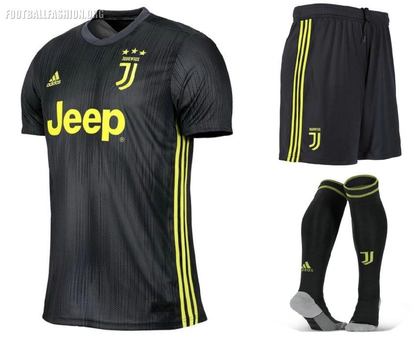 low priced 5379c bb066 Juventus FC 2018/19 adidas Third Kit - FOOTBALL FASHION.ORG