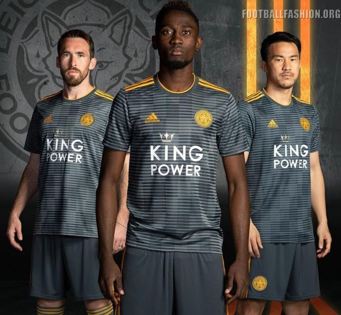 602a9a66b Leicester City FC 2018 2019 adidas Away Football Kit, Soccer Jersey, Shirt