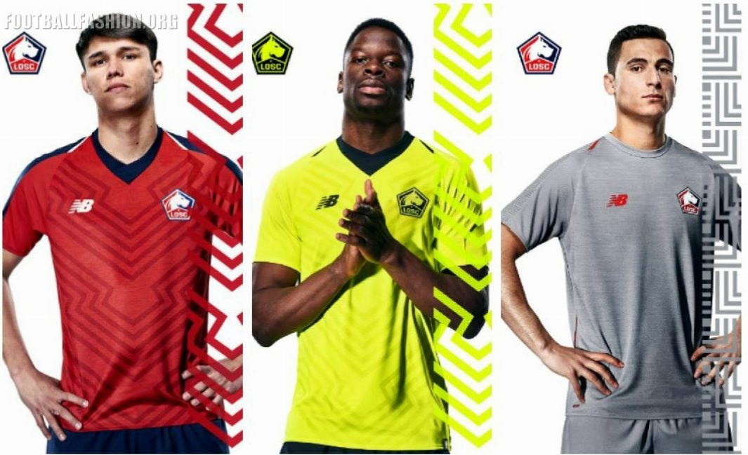 686742120 Lille OSC 2018 2019 New Balance Home