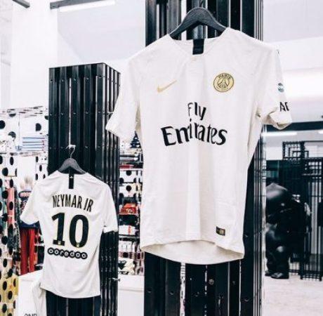 Paris Saint-Germain 2018 2019 Nike Away Football Kit, Soccer Jersey, Shirt, Maillot, Camiseta, Camisa, Trikot