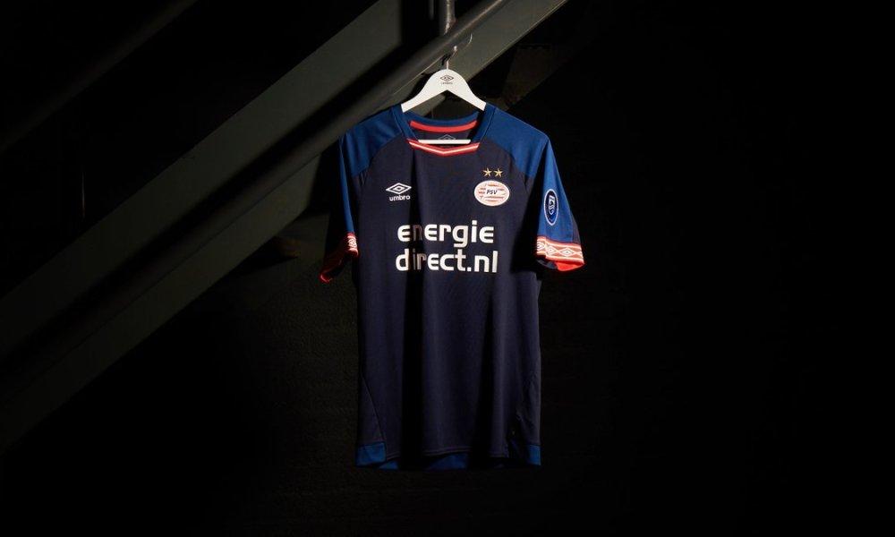 PSV Eindhoven 2018 2019 Umbro Third Football Kit, Soccer Jersey, 3e Shirt