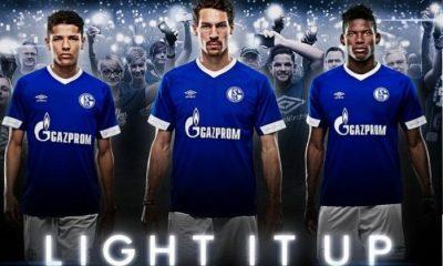 Schalke 04 2018 2019 Umbro Home Football Kit, Soccer Jersey, Shirt, Trikot, Heimtrikot