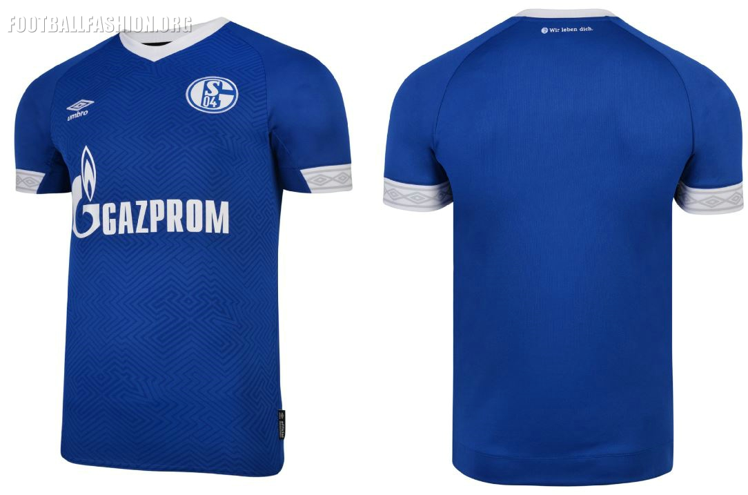 f234ab1c4c6 Schalke 04 2018 19 Umbro Home Kit - FOOTBALL FASHION.ORG