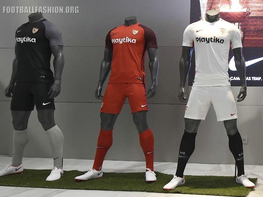 Sevilla Fútbol Club 2018 2019 Nike Home 492cfaee5dad0