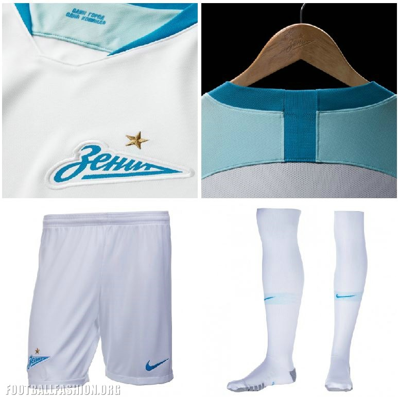 Fc Zenit Saint Petersburg 2018 19 Nike Away Kit Football