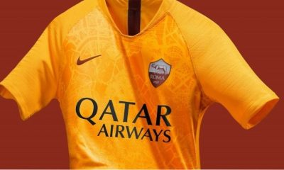 AS Roma 2018 2019 Nike Third Football Kit, Soccer Jersey, Shirt, Gara, Maglia, Camisa, Camiseta