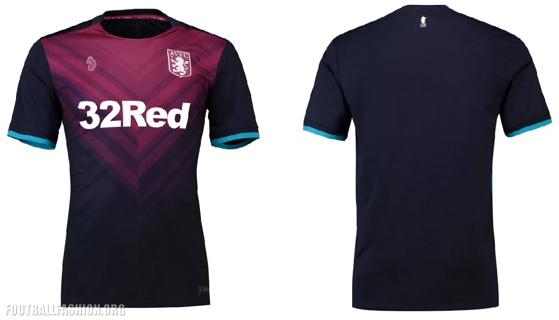 on sale 0c4f3 c9997 Aston Villa 2018/19 Luke 1977 Third Kit - FOOTBALL FASHION.ORG