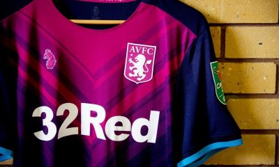 Aston Villa 2018 2019 Luke 1977 Third Football Kit, Soccer Jersey, Shirt