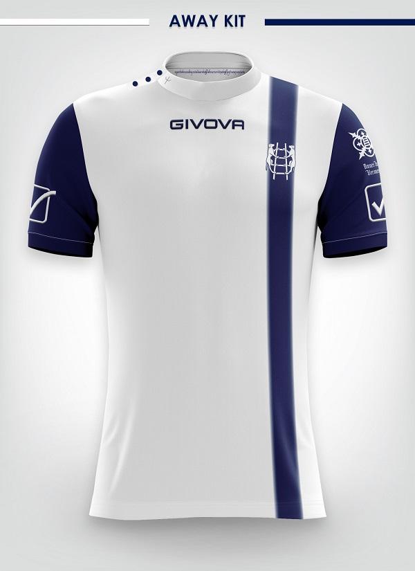 Ac chievo verona 2018 19 givova home away and third kits for Uniform verona