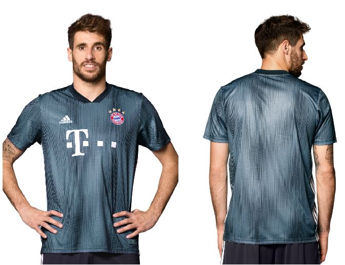 f152184402 Bayern Munich 2018 2019 adidas Gray Third UEFA Champions League Football  Kit, Soccer Jersey,