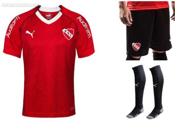 72b0fb605 Club Atlético Independiente 2018 2019 PUMA Football Kit, Soccer Jersey,  Shirt, Camiseta de