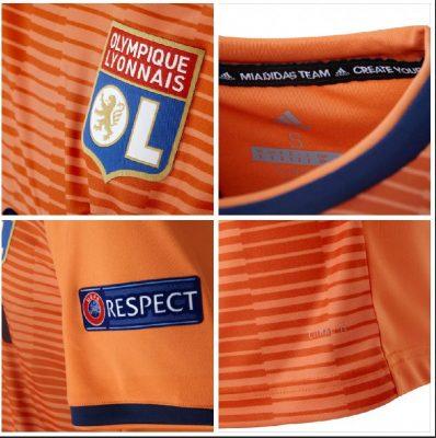 Olympique Lyon 2018 2019 adidas Third Kit, Soccer Jersey, Shirt, Maillot, Tenue