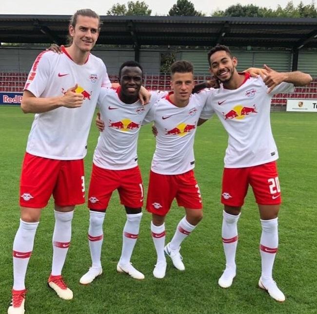 Maglia Home RB Leipzig Yussuf Poulsen