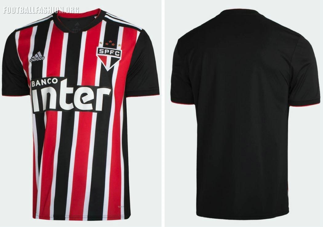 242846d8b São Paulo FC 2018 19 adidas Home and Away Kits - FOOTBALL FASHION.ORG