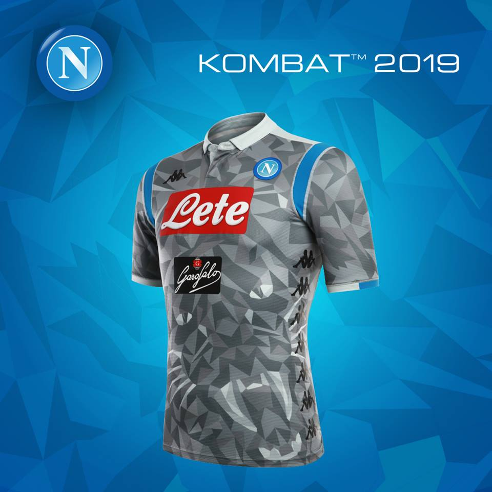 ab9d856fd686c SSC Napoli 2018 19 Kappa Third Kit - FOOTBALL FASHION.ORG